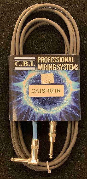 CBI 10' Instrument Cable w/1R