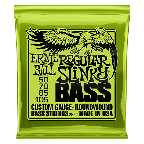 Ernie Ball Regular Slinky Bass (2 Pack)