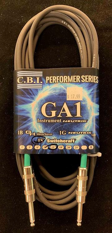 CBI 15' Instrument Cable