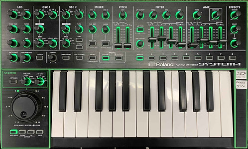 Roland System-1 Plug-Out Synthesizer USED!!!