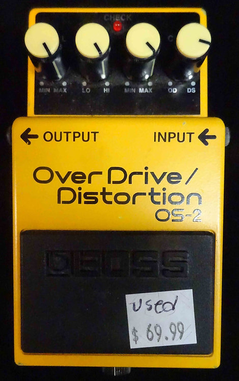 Boss OS-2 OverDrive/Distortion USED!!! OS2