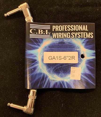 "CBI 6"" Instrument Cable w/2R"