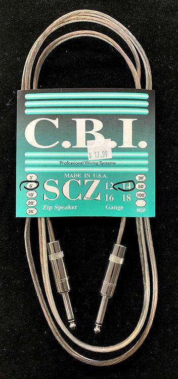 CBI 6' Speaker Cable, 14 Gauge