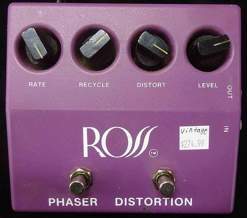 Ross Phaser Distortion VINTAGE!!!