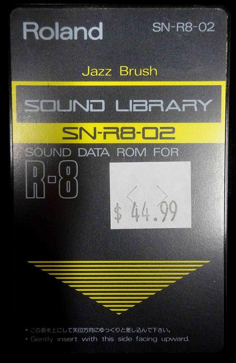 Roland SN-R8-02 Jazz Brush USED!!!