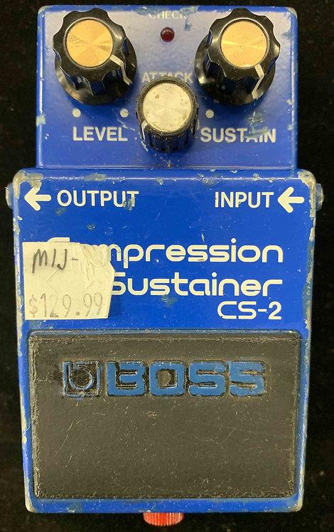 Boss CS-2 Compression Sustainer VINTAGE!!!