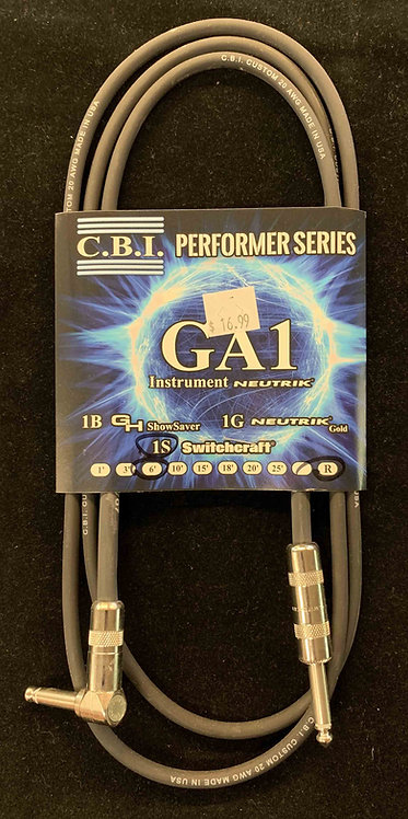 CBI 6' Instrument Cable w/1R