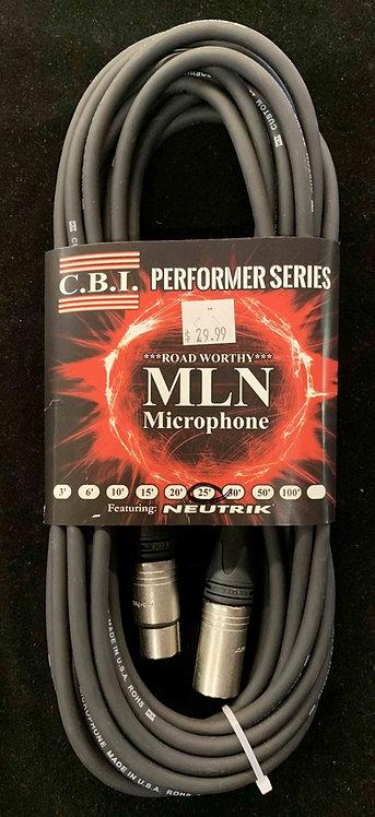 CBI 25' Microphone Cable