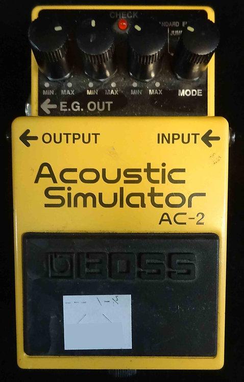 Boss AC-2 Acoustic Simulator USED!!! AC2