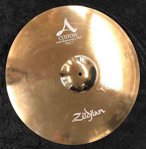 "Zildjian 21"" A Custom Anniversary Ride USED!!!"