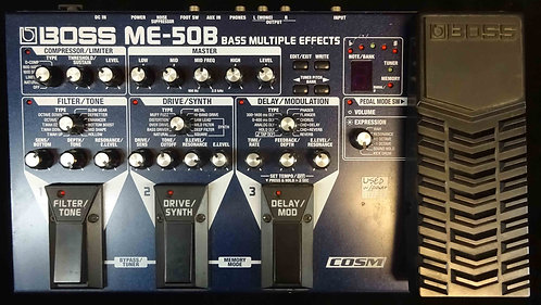 Boss ME-50B Bass Multi-Effects USED!!! ME50B