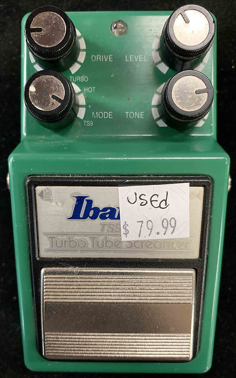 Ibanez TS9DX Turbo Tube Screamer USED!!!
