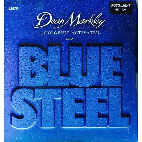 Dean Markley Blue Steel 5-String Bass DMS2678