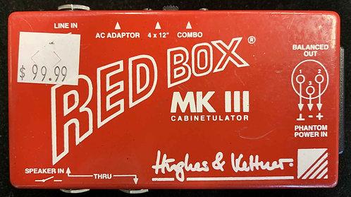Hughes & Kettner Red Box MKIII Cabinetulator USED!!!