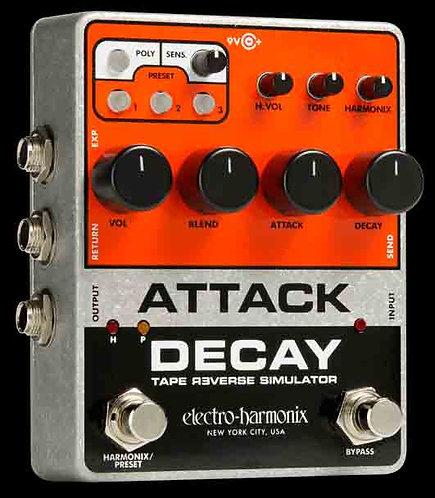 Electro-Harmonix Attack Decay Tape Reverse Smiluator NEW!!!