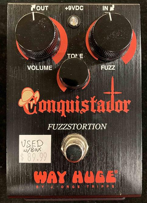 Way Huge Conquistador Fuzzstortion USED!!!