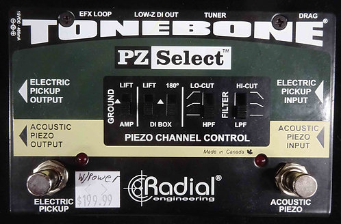 Radial Engineering Tonebone PZ Select USED!!!