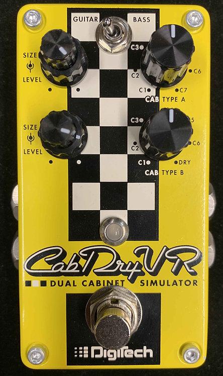 Digitech CabDryVR Dual Cabinet Simulator USED!!!