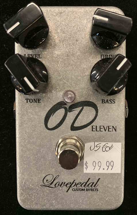 Lovepedal OD Eleven USED!!!