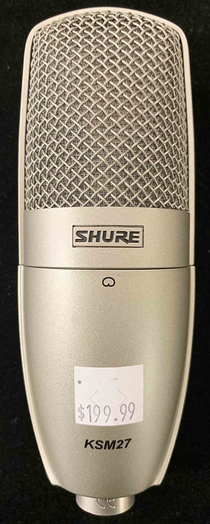 Shure KSM27 Condenser Microphone USED!!!