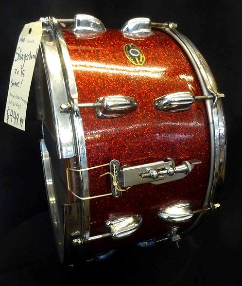 Slingerland 7x15 Snare Drum VINTAGE!!!