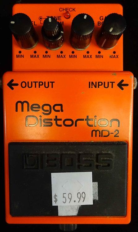 Boss MD-2 Mega Distortion USED!!! MD2
