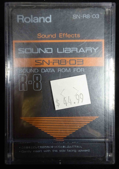 Roland SN-R8-03 Sound Effects USED!!!