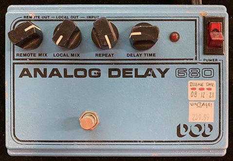 DOD Analog Delay 680 VINTAGE!!!