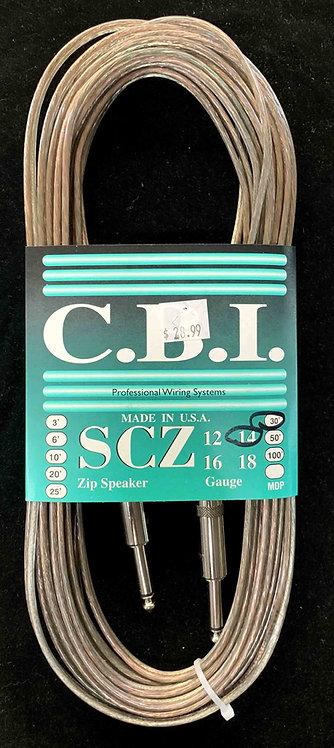CBI 30' Speaker Cable, 14 Gauge