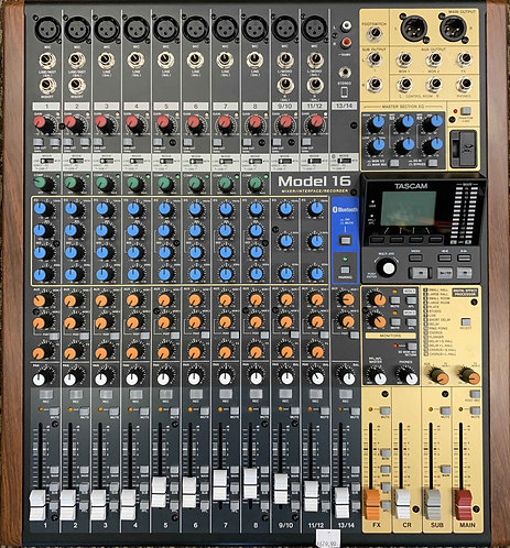 Tascam Model 16 Mixer/Interface/Recorder USED!!!