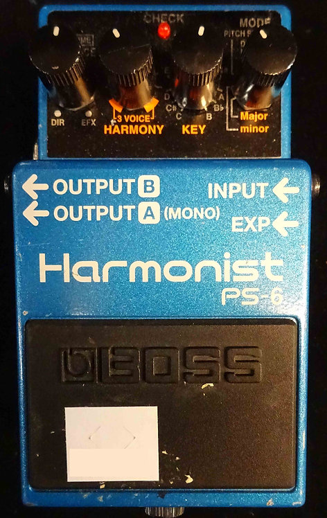 Boss PS-6 Harmonist USED!!! PS6