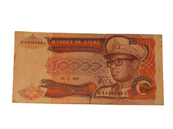 Zaire Banknote