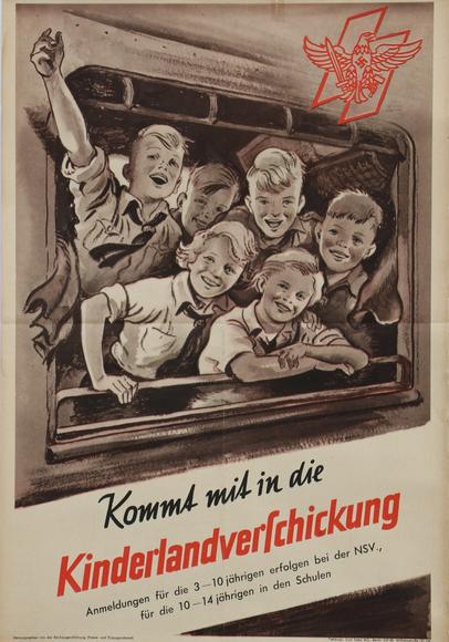 Wartime Travel Poster