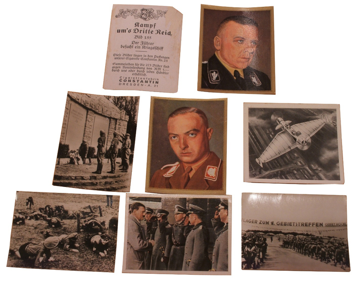 Cigarette Collecting Cards
