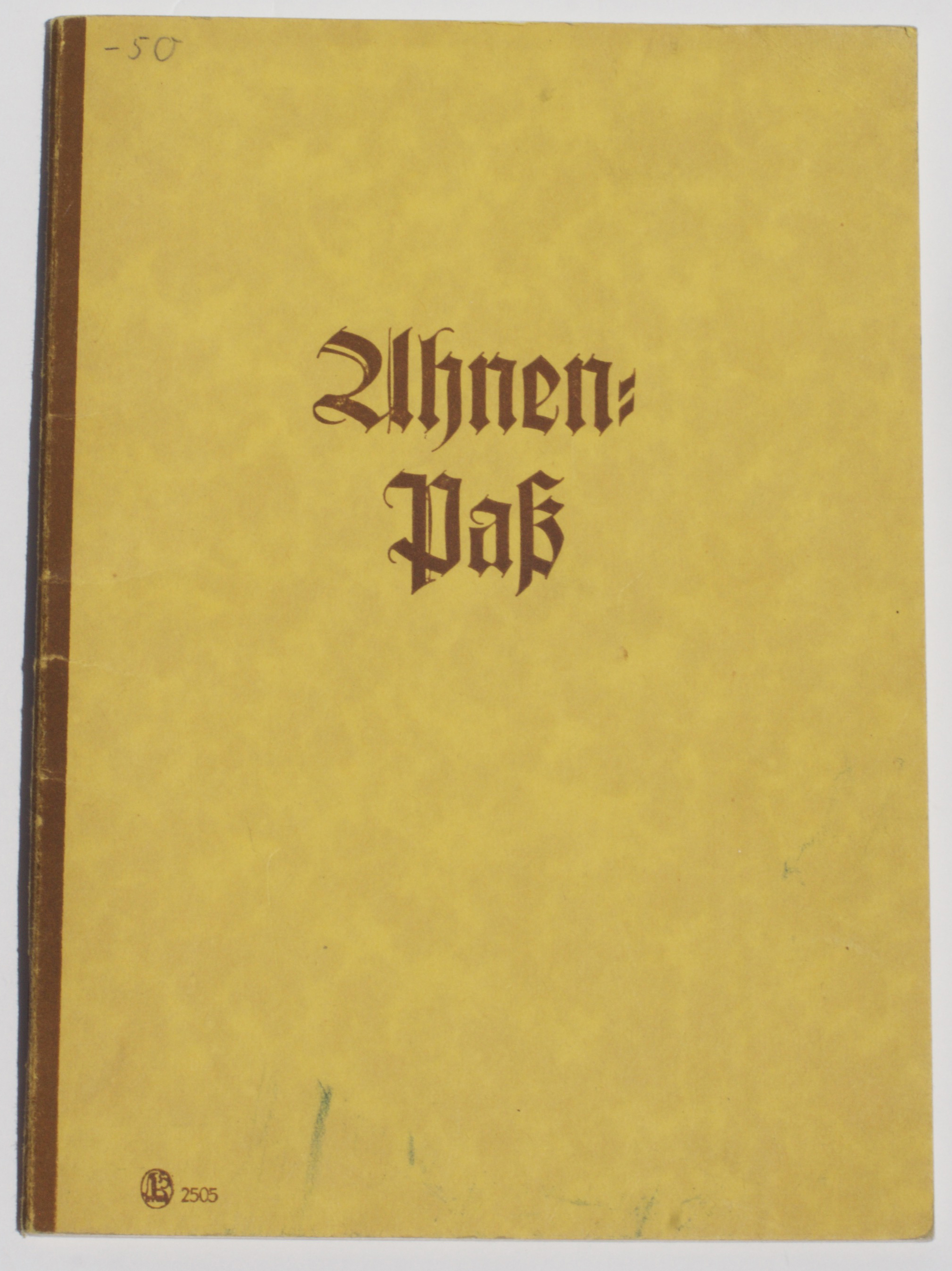 Ancestral Heritage Booklet