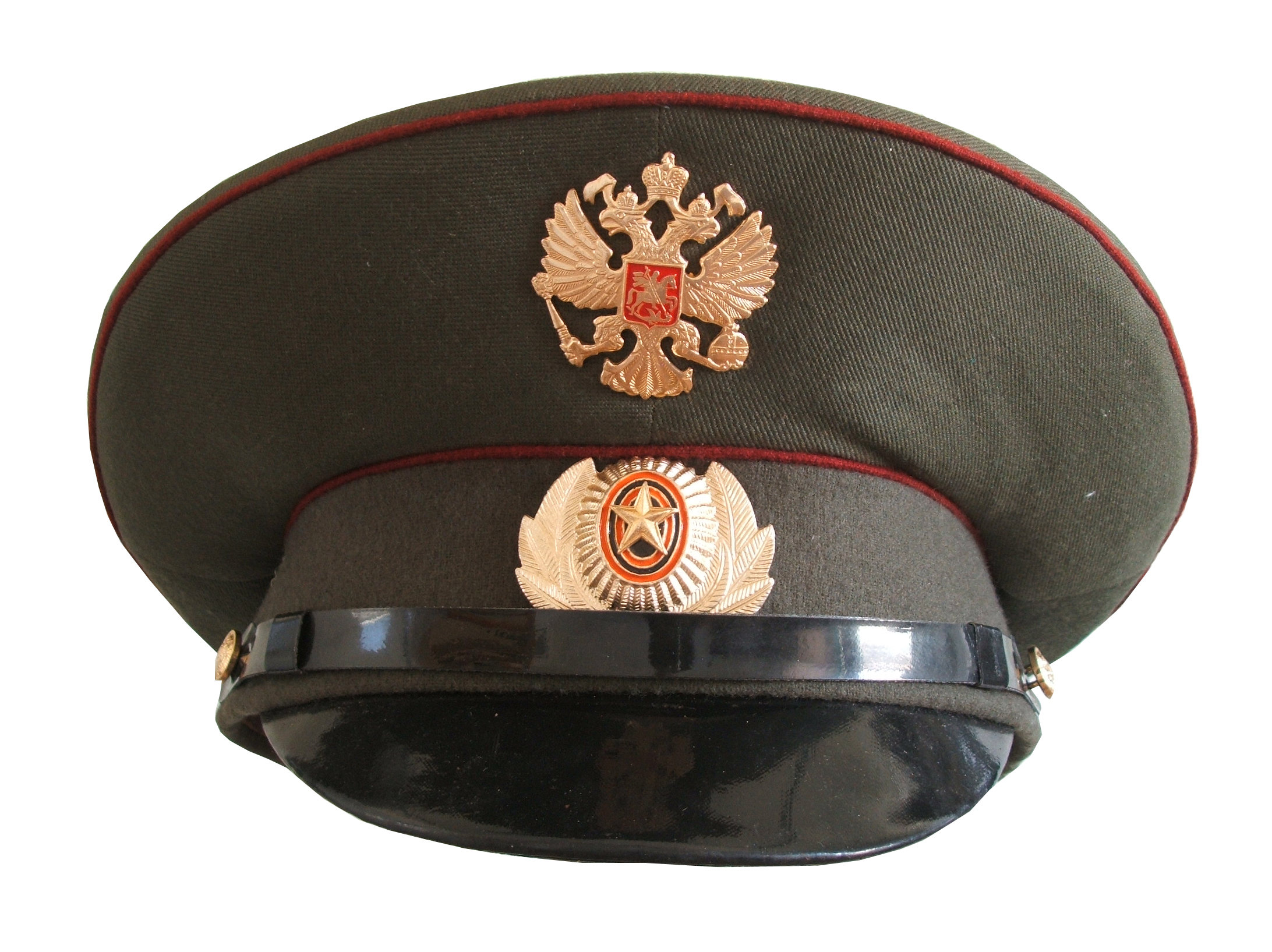 Post-Communist MVD Visor Cap