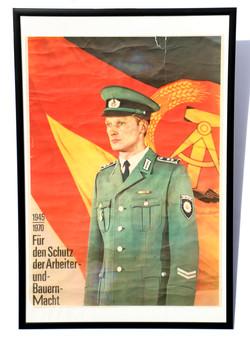 People's Police 25th Anniversary Propaganda Poster