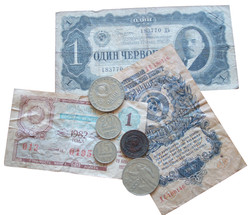 Rubles and Coins