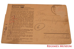 Mauthausen Inmate Letter
