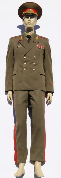 Army Major General Uniform