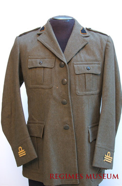 Captured Artillery Captain Uniform