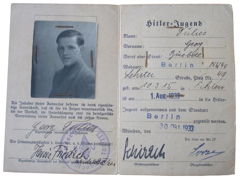 Hitler Youth Membership Booklet
