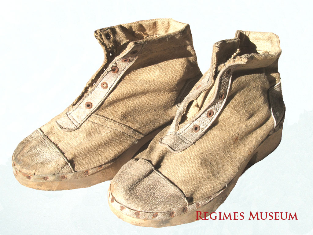 Klooga Concentration Camp Inmate Shoes
