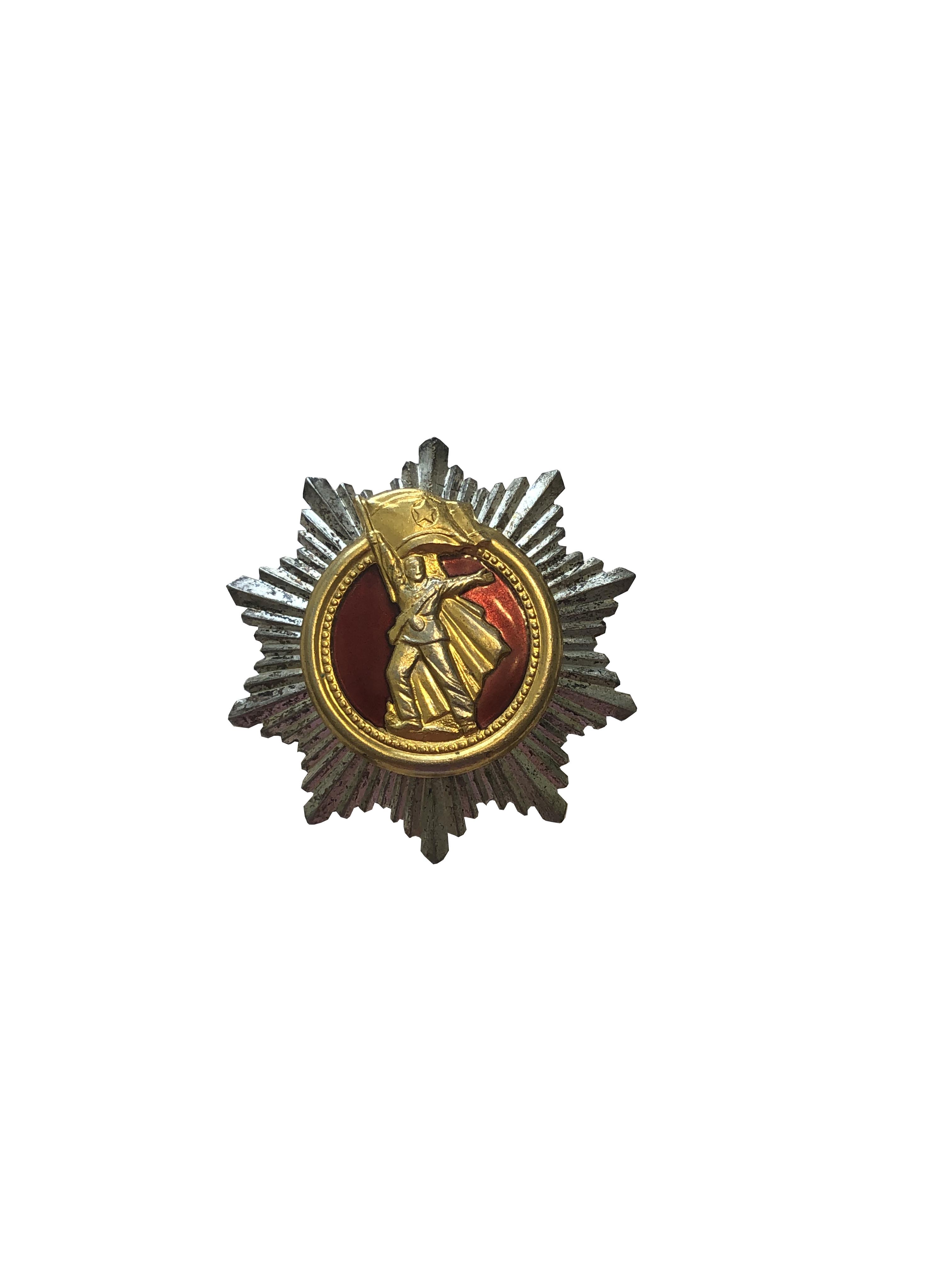 40th Anniversary of Korean War Badge