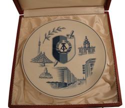 Stasi Meissen Award Plate