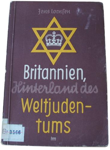 Anti-Semitic Library Book