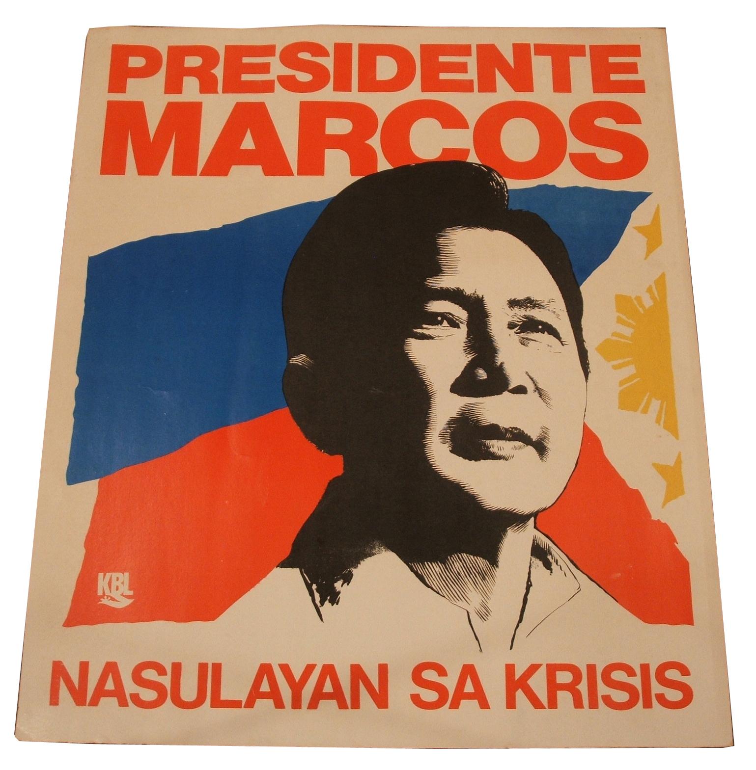 Ferdinand Marcos Poster