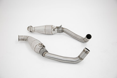 F8 TRIBUTO EXHAUST TAILPIPES (One Piece)