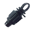 Заглушка концевая для ленты D 16 мм фитинги