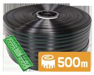 эмиттерная капельная лента 500 капельный полив  капельное орошение